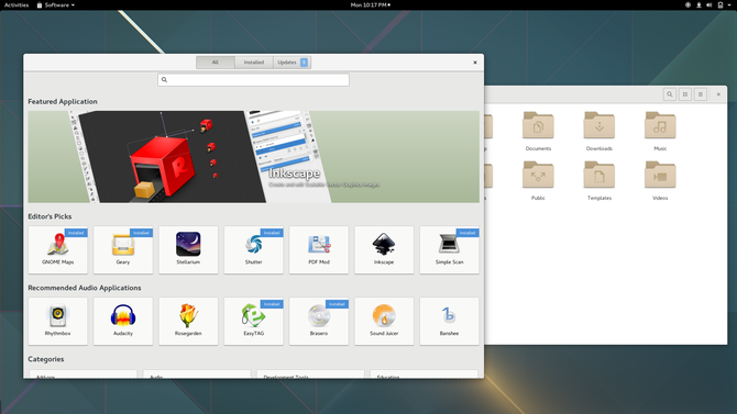 What Is GNOME -- Software