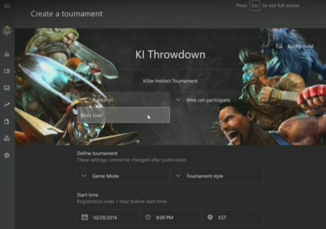Windows 10 Creators Update Tournament