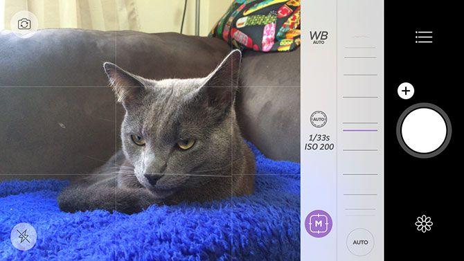 iOS Camera Plus App