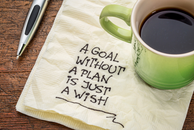 Agile personal management requires plans to meet your goals