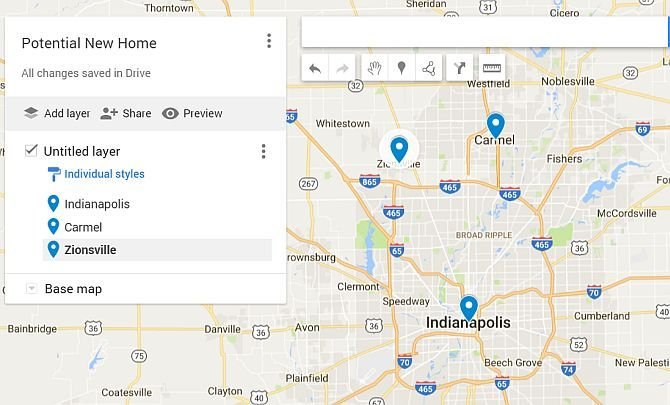 Google Drive Maps New Home