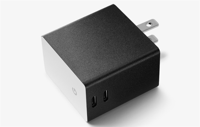 Google Dual Port USB-C Charger