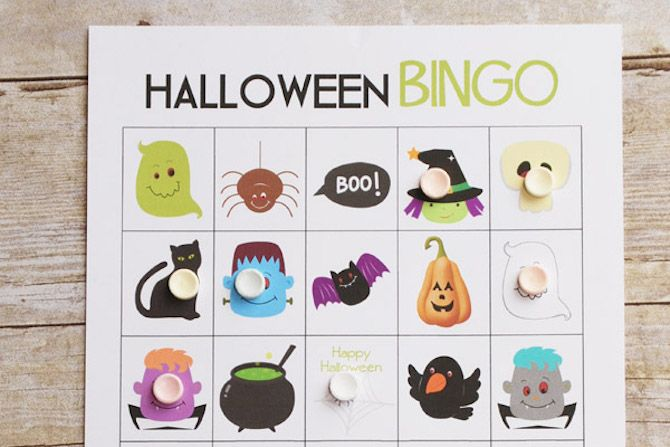 You Can Download For Free Halloween Printables Bingo Cards