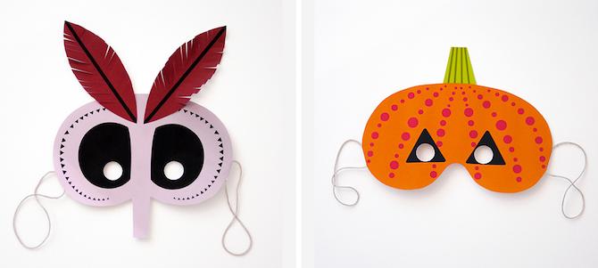Halloween Printables Monster Masks
