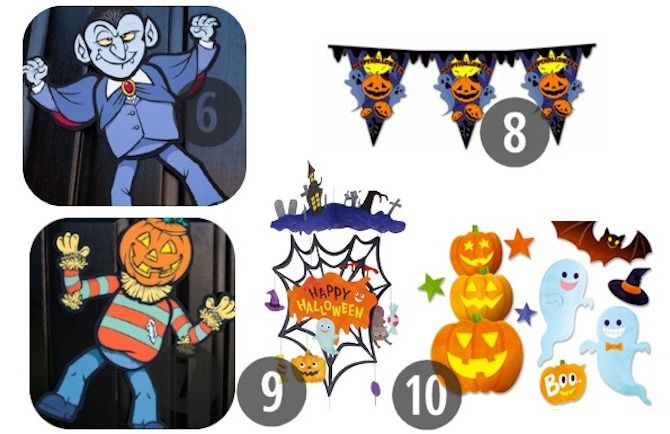 Halloween Printables -- Party Decorations