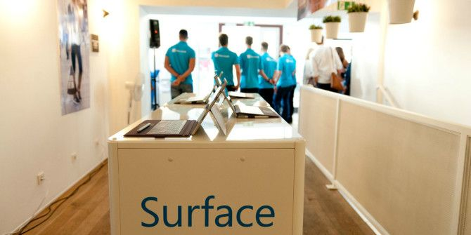 The Microsoft Surface Isn't Such a Joke After All