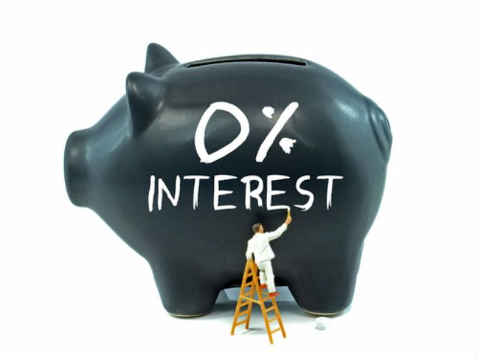 0 Percent Interest Savings