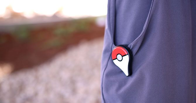 Pokemon GO Plus Worn on Pocket