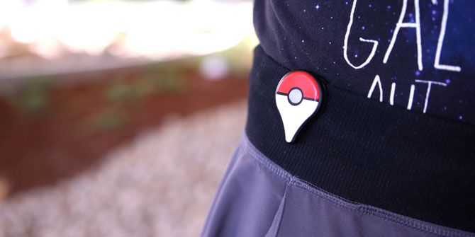 Pokemon GO Plus Worn on Sweater