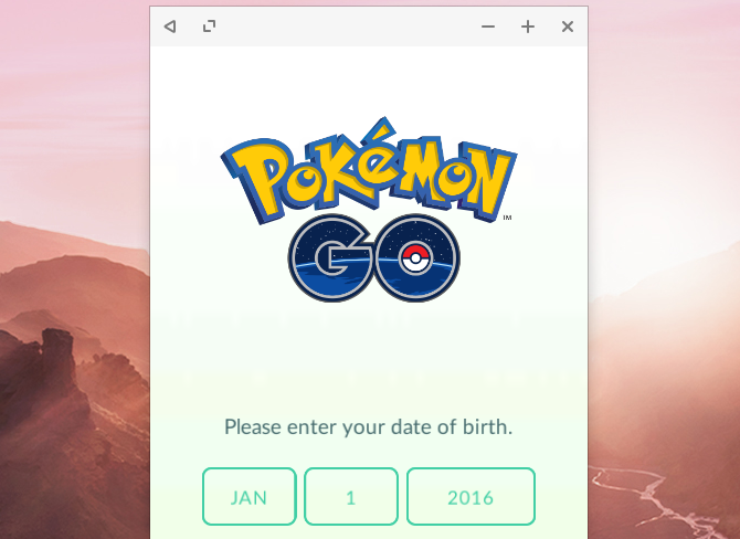 Pokemon Go in Remix OS