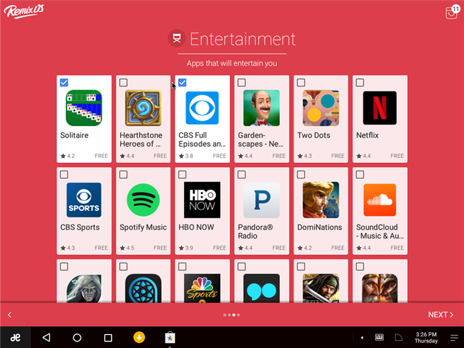 Remix OS Player Central Entertainment