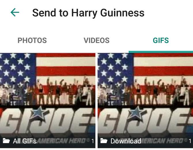 WhatsApp New Feature -- GIFs