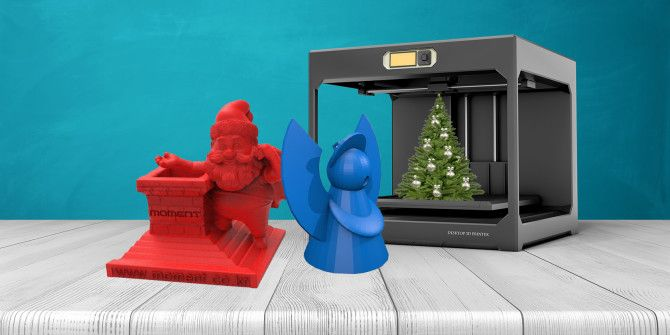 3D-Printed Christmas Decorations for Perfect Geeky Holidays
