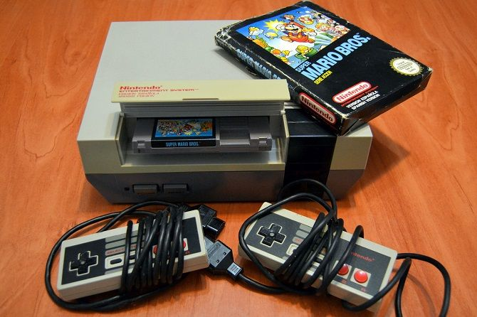 Old School NES System
