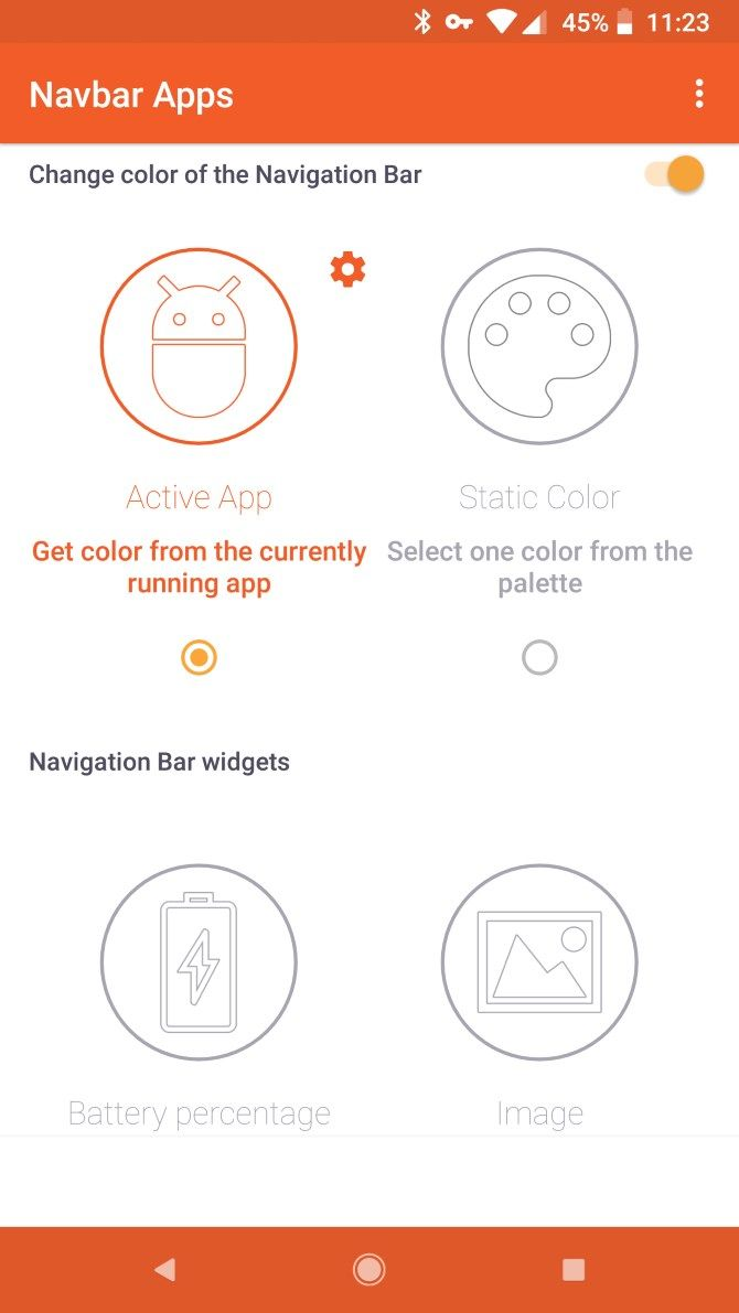 How to Get a Colored Navigation Bar on Android Without Root