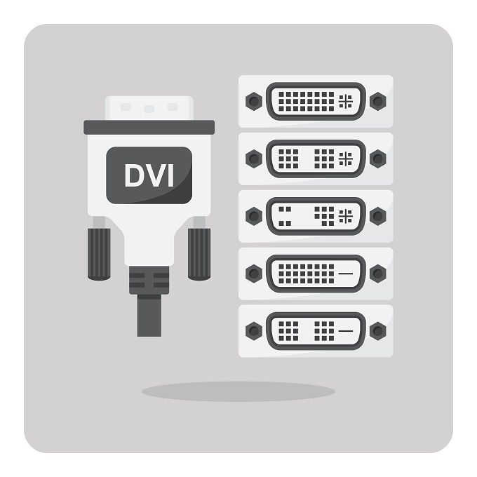 Video Cable Types Differences Between Vga Dvi And Hdmi Ports