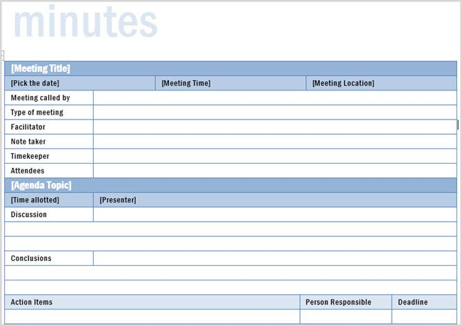 Professional Meeting Minutes Template from static2.makeuseofimages.com