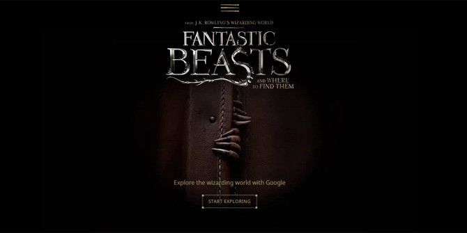 "Peek Into the World of ""Fantastic Beasts"" With Google Magic"