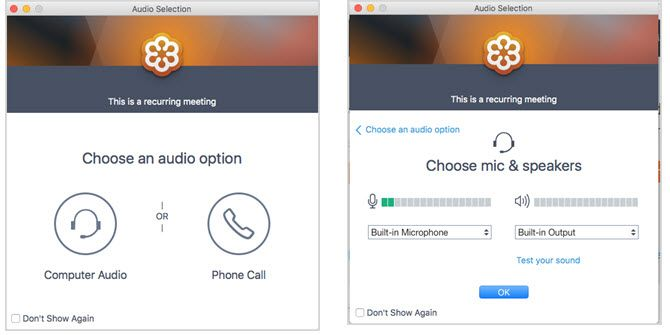 GoToMeeting -- Audio
