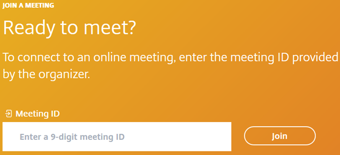 GoToMeeting -- Join Meeting