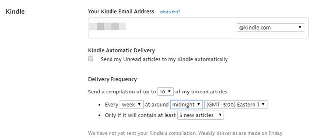 Kindle Digest With Instapaper