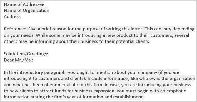 basic business letters - Business Letter Template Word