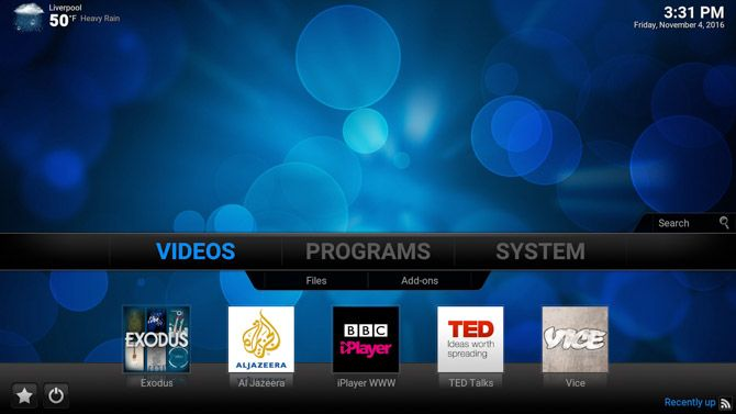 Raspberry Pi: The Unofficial Tutorial Kodi Shortcuts 1