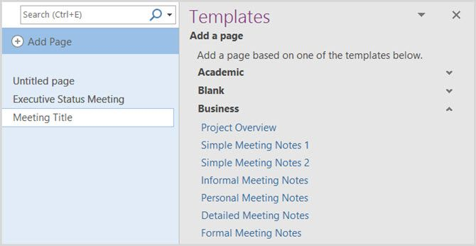 12 best meeting minutes templates for professionals for microsoft onenote accmission Gallery