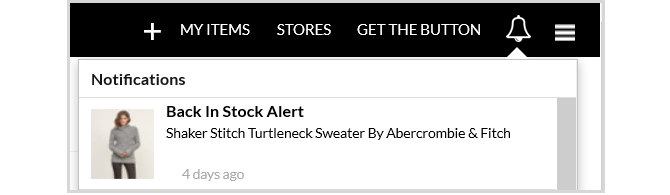 Shoptagr Web Stock Alerts