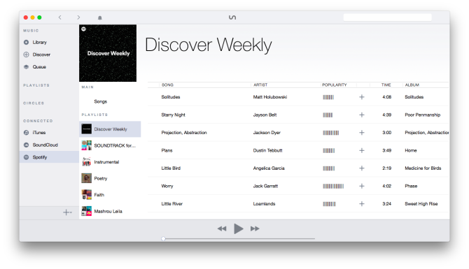 Listen to Spotify, iTunes, and SoundCloud All in One Single App
