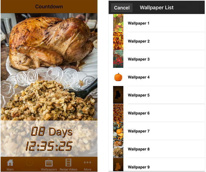 Thanksgiving All-In-One iPhone