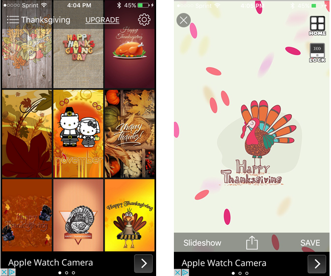 Thanksgiving Wallpapers iPhone