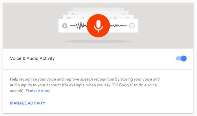 Voice and Audio Activity