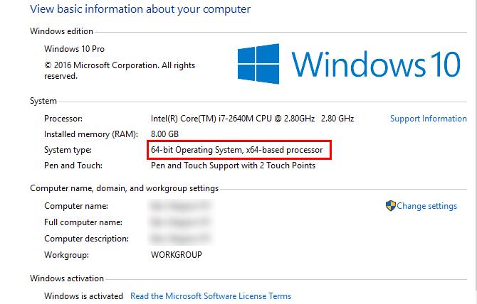 informasi sistem-windows