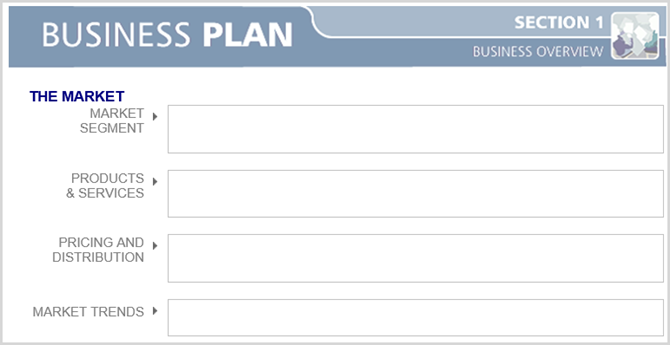word business plan blank tidy