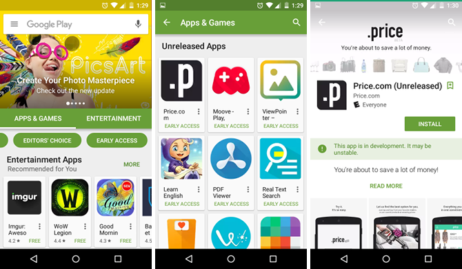 The Best Google Play Store Tips and Tricks for Android Users android google play early access beta