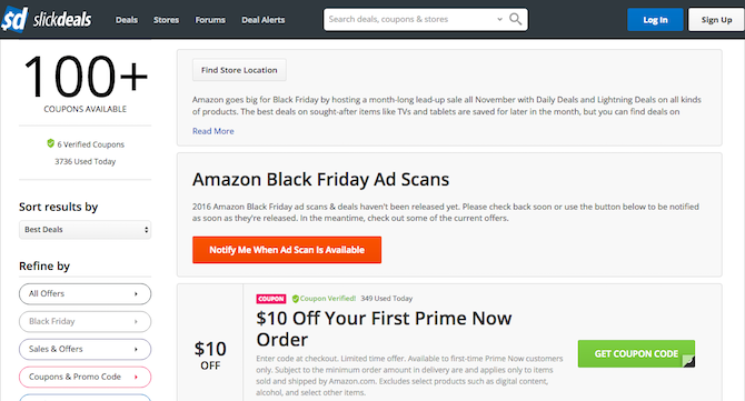 5 online sources for amazon promotional codes and coupons best amazon coupons codes slickdeals fandeluxe Images