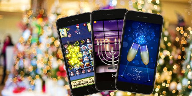 10 Fun iPhone Apps for Christmas, Hanukkah and New Year\'s