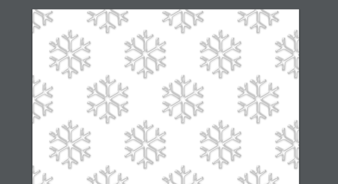 Christmas Wrapping Paper Pattern