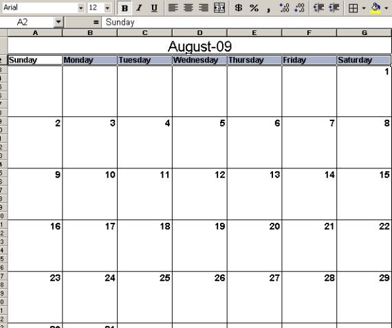 Craft A Printable Calendar For The New Year
