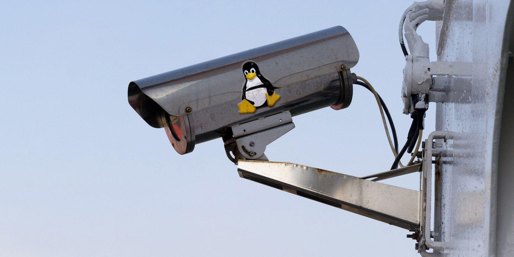 linux-security-camera