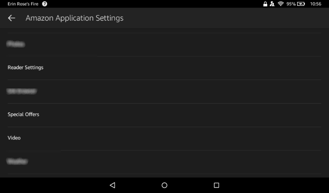 Amazon Fire Android Style Disable