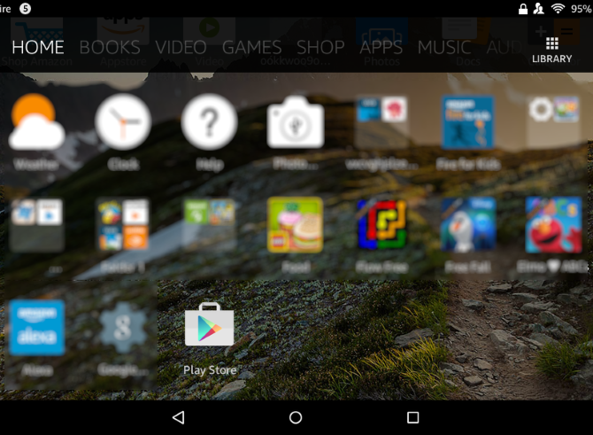 Amazon Fire Android Style Play