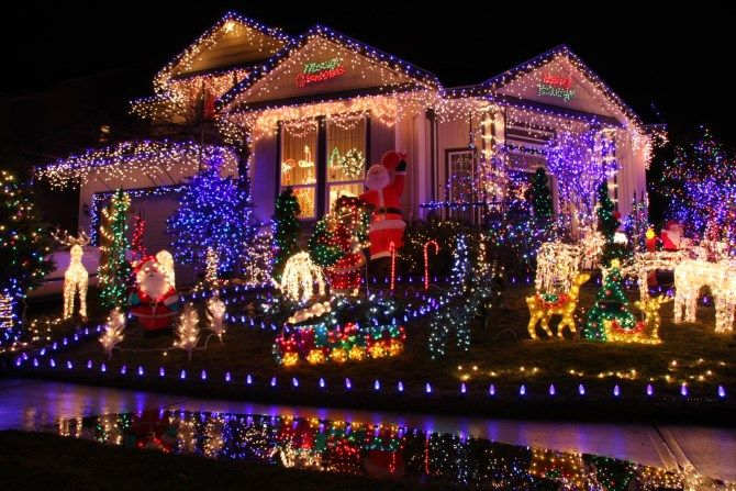 Ruin Christmas Budgets -- Lights