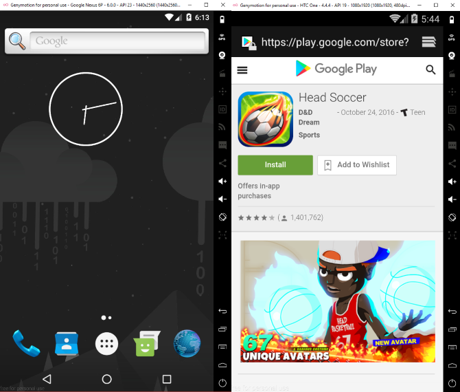 Android Emulators: 10 Best to Run Apps and Play Games on PC
