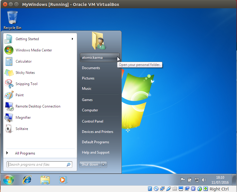 muo linux msoffice windows 7