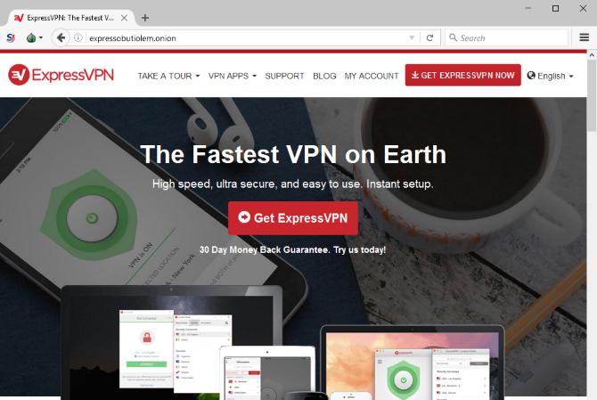 ExpressVPN on Tor