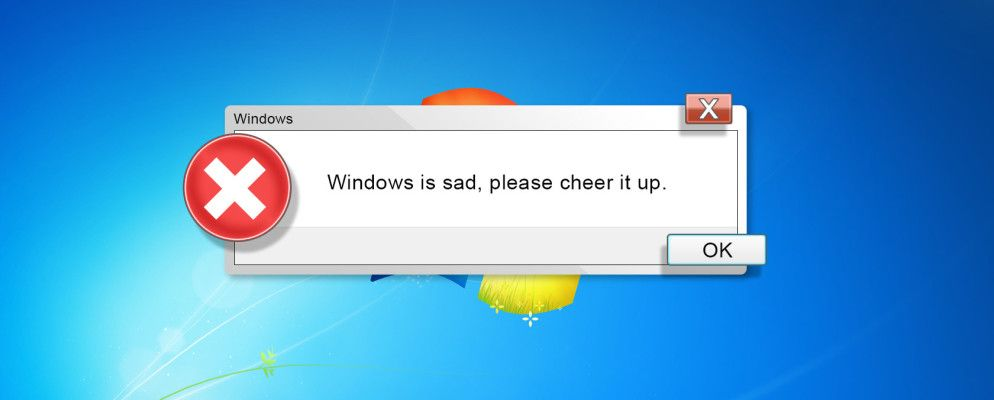 The 12 Most Ridiculous Windows Errors of All Time