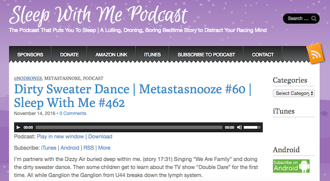 This Podcast Helps You Fall Asleep With Awesome Bedtime Stories