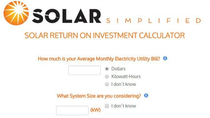 solar return on investment